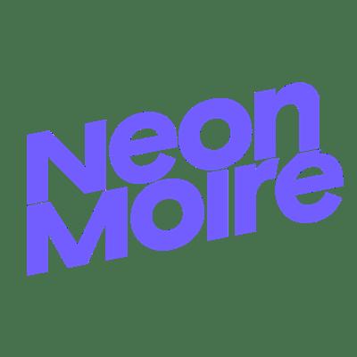 Neon Moiré