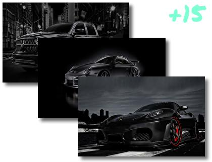 Shadow Cars theme pack