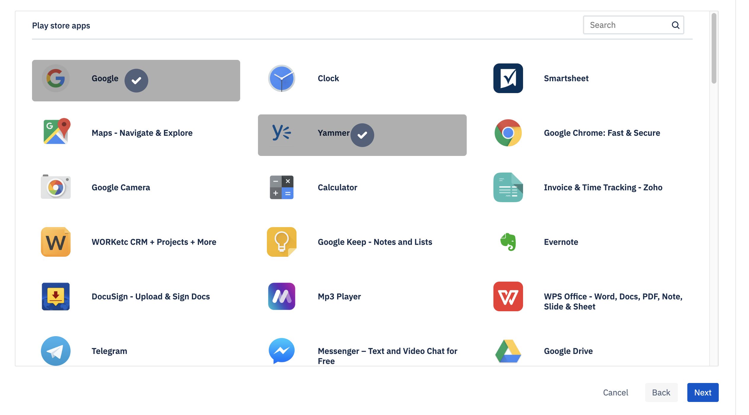 Google app Apps