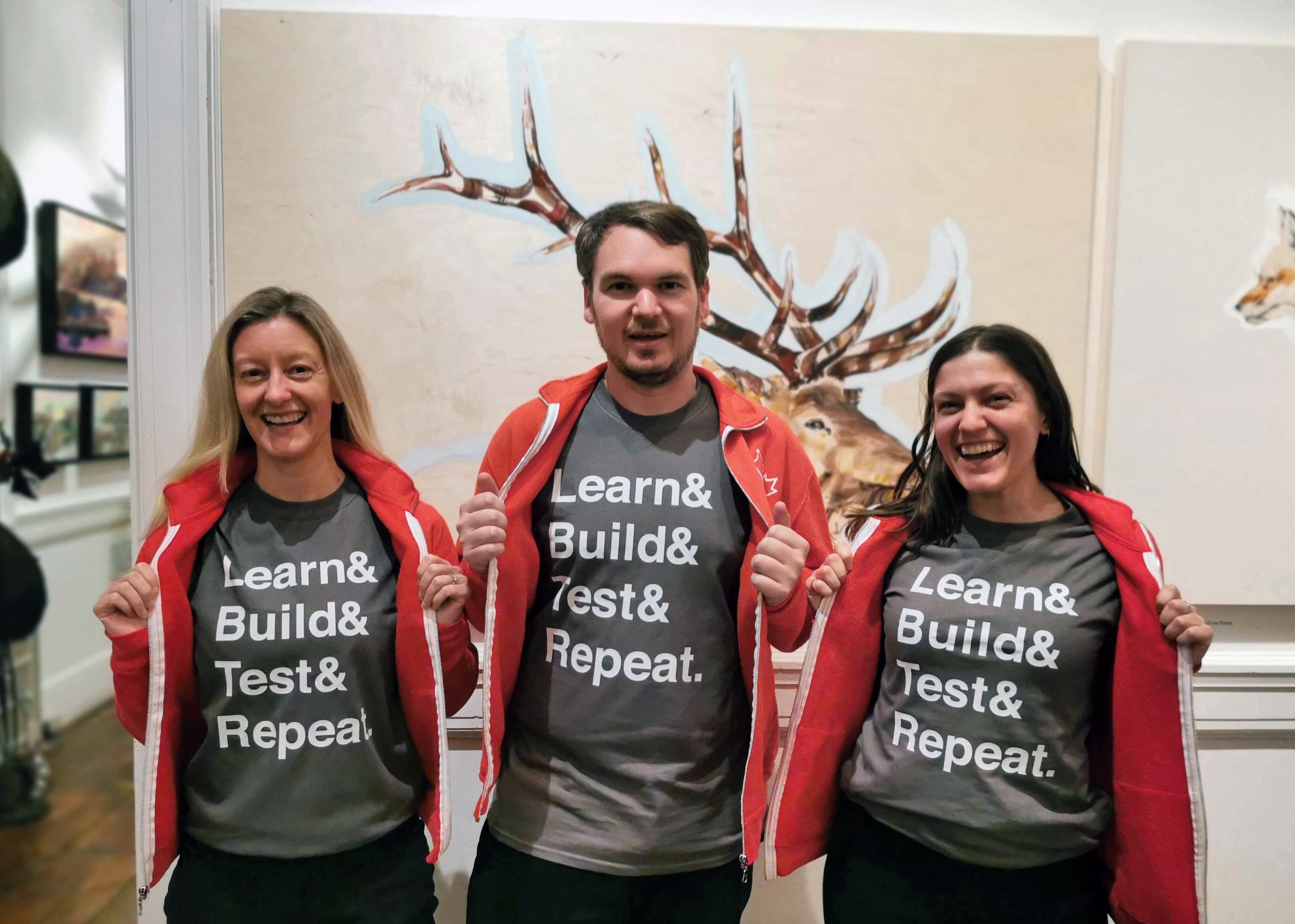 Three Code for Canada fellows