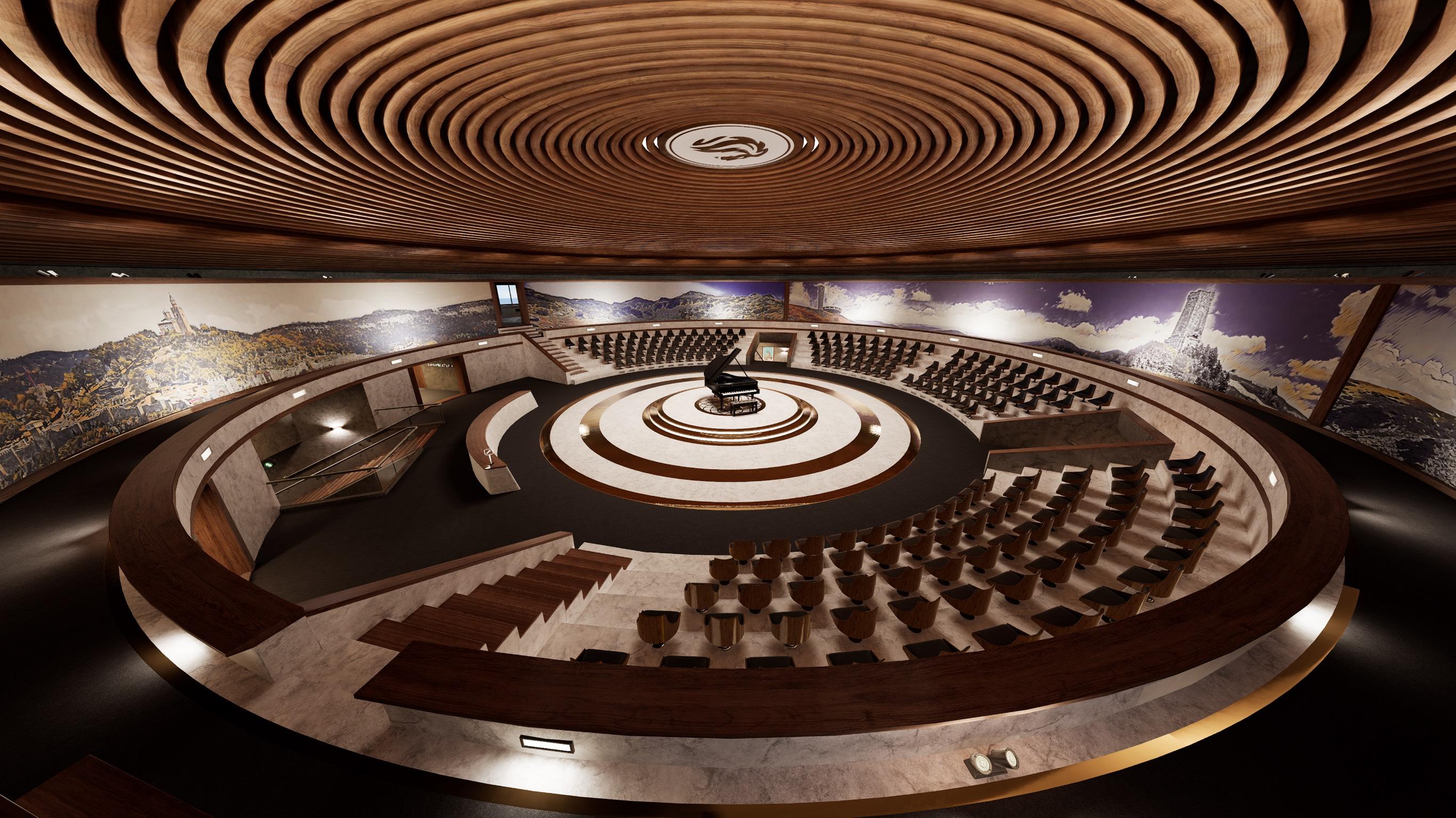 Buzludzha VR Amphitheatre