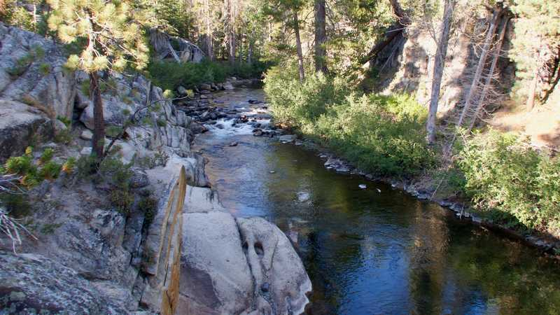 Crossing the Middle Fork of the San Joaquin River
