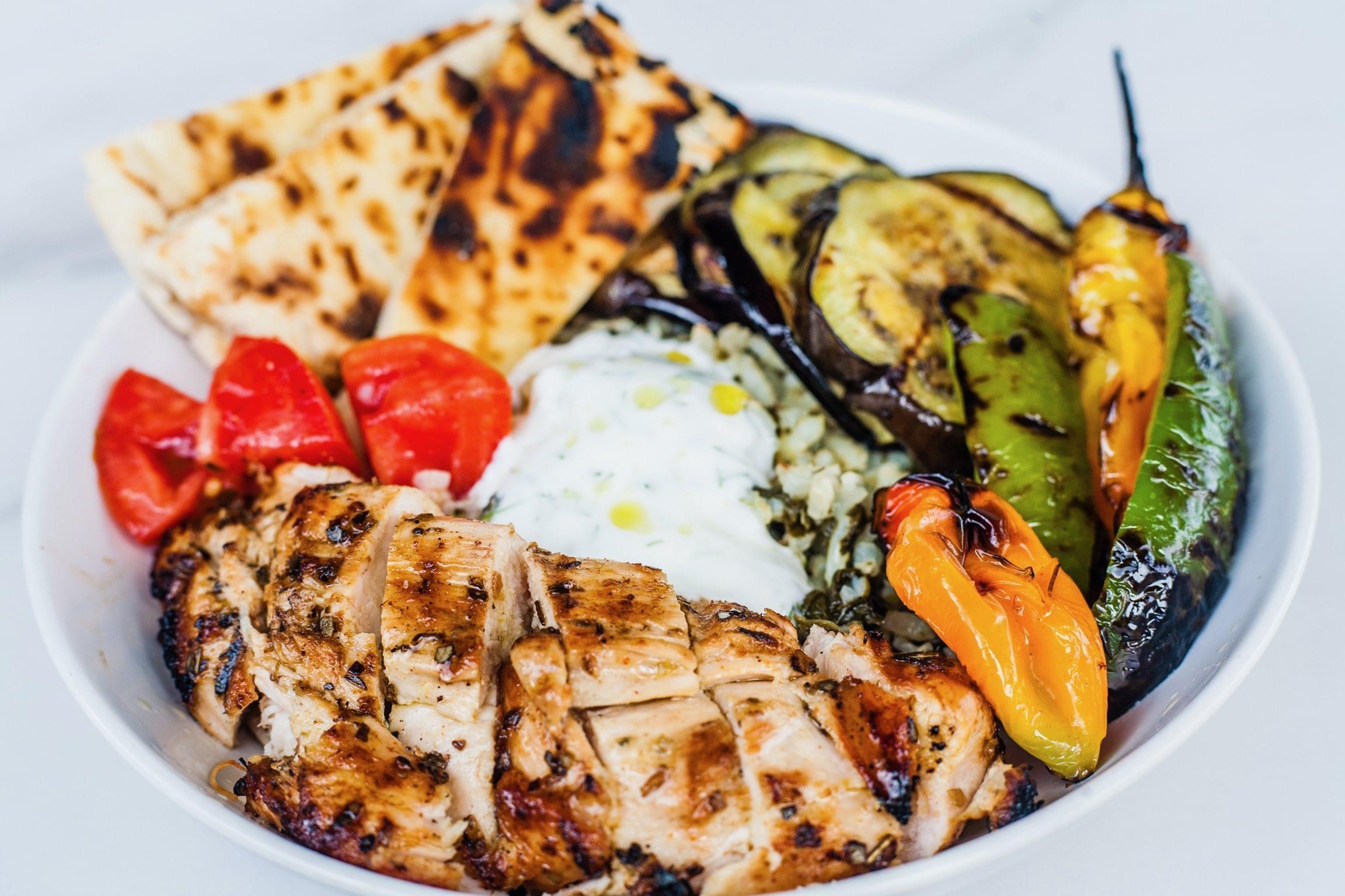 Mediterranean Protein Bowl