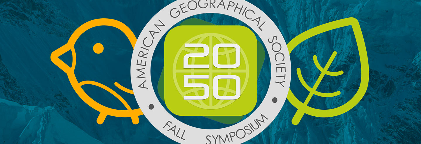 The Geography 2050 Symposium in New York, NY