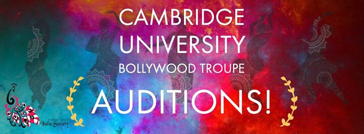 CU Bollywood Dance Troupe Auditions