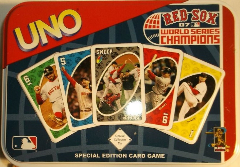 Boston Red Sox Uno: World Series Champions (2007)