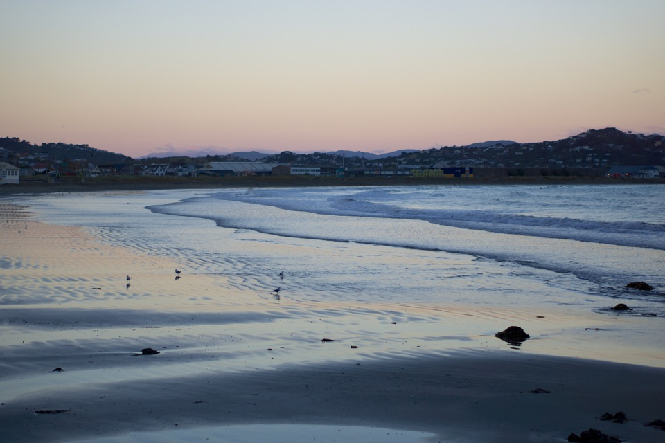 Lyall Bay sunset