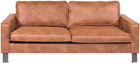 3zits Bank Country Leer Colorado Cognac 03 2 06 Mtr Breed 9200000072897432 206x85x97 cm