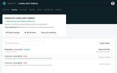 Deploy Blog อัตโนมัติด้วย Netlify
