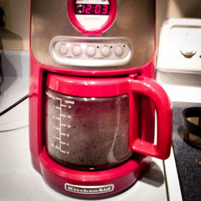 coffee machine kitchenaid