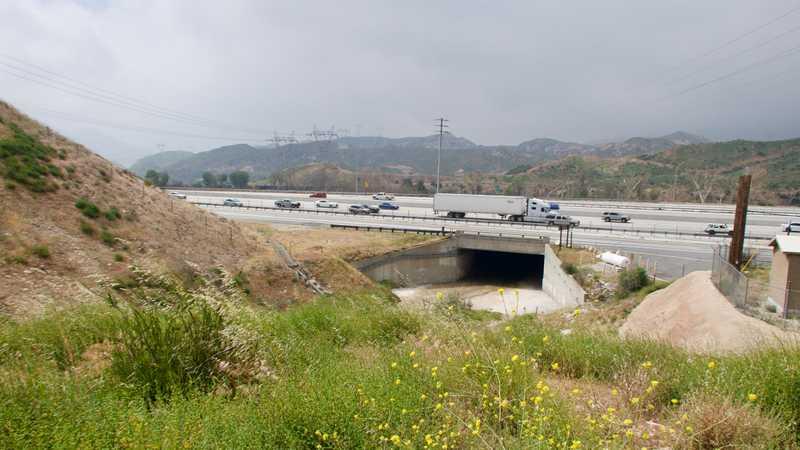 Interstate 15 at Cajon Pass