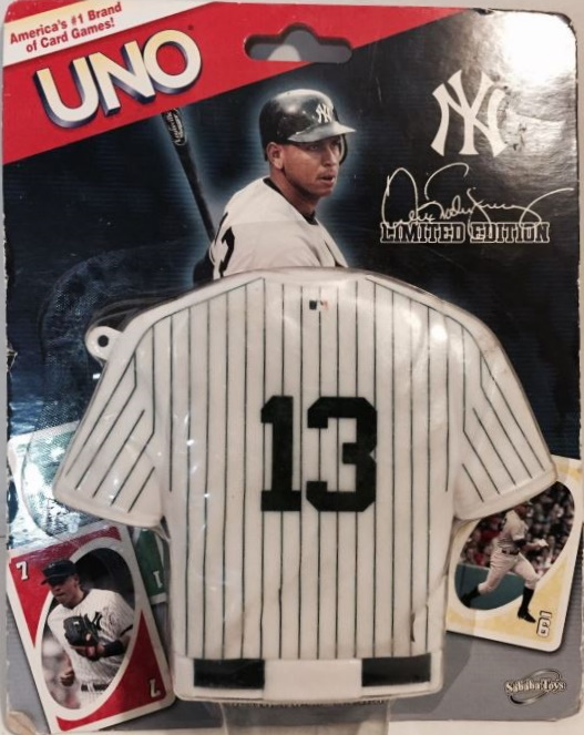 New York Yankees Uno: Alex Rodriguez