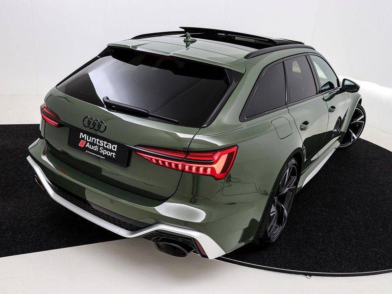 Audi A6 Avant RS 6 TFSI 600 pk quattro | 25 jaar RS Package | Dynamic + pakket | Keramische Remschijven | Audi Exclusive Lak | Carbon | Pano.dak | Assistentie pakket Tour & City | 360 Camera | afbeelding 19
