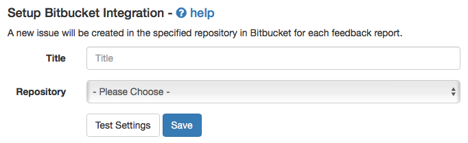 Bitbucket Integration Stage 3