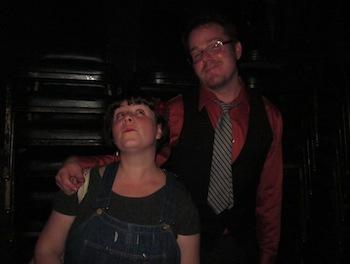 Picture of Megan Cohen and Stuart Bousel.