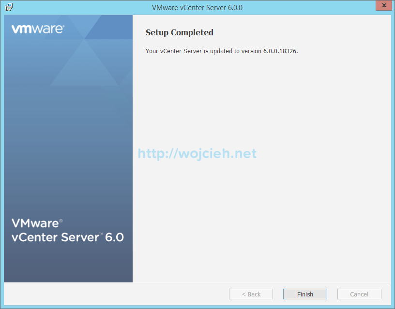 vCenter Server 6. Upgrade - 7