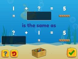 Forward, Backward: Commutative property of addition Math Game