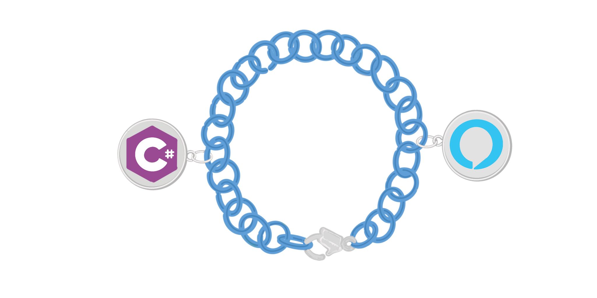 Alexa + C# + Okta Bracelet
