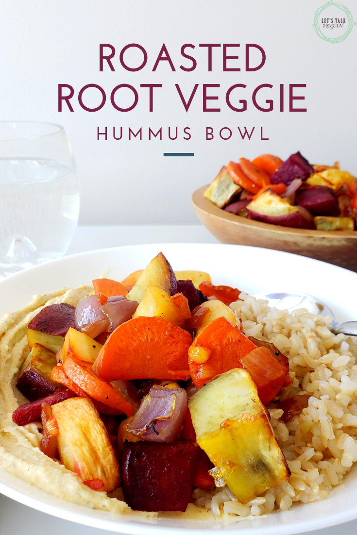 Roasted root vegetable buddah bowl