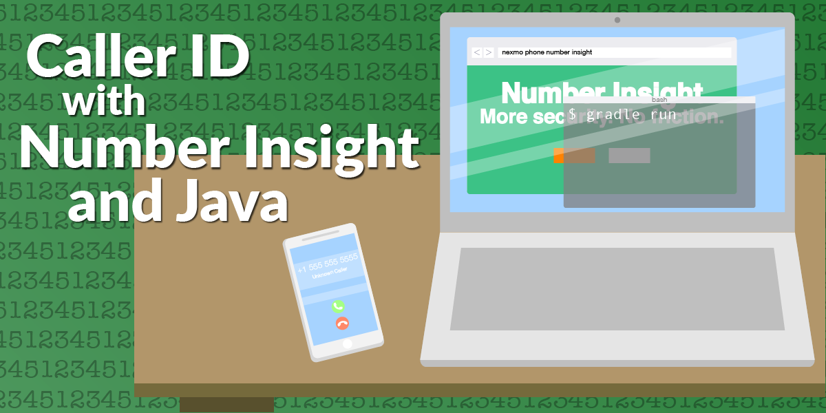 Creating a Caller ID with Number Insight and Java