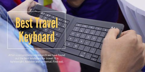This is the perfect travel keyboard — it is ultrathin, lightweight, compact design lets you easily take it wherever you go so you can get more done.