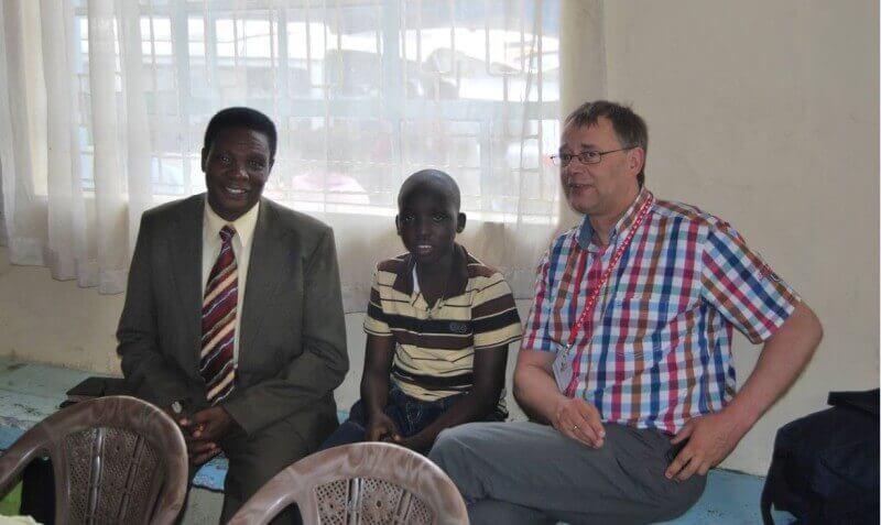 Pastor Joël, Rexus en ik!!