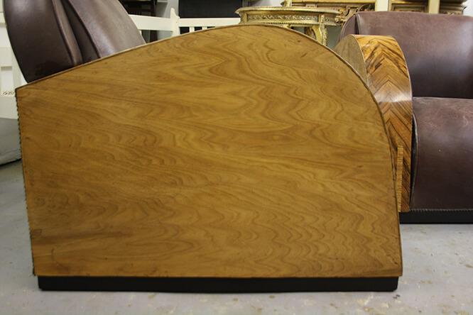 arm chairs with veneer damage 2