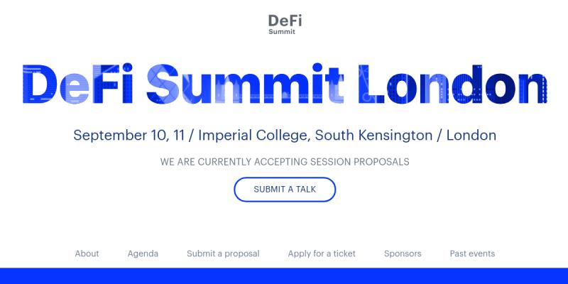DeFi Events Calendar  DeFi meetups, conferences and hackathons