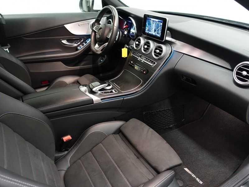 Mercedes-Benz C-Klasse Cabrio 180 Ultimate AMG Edition Aut- Leer, Navi, Led, LMV , 40dkm ! afbeelding 11