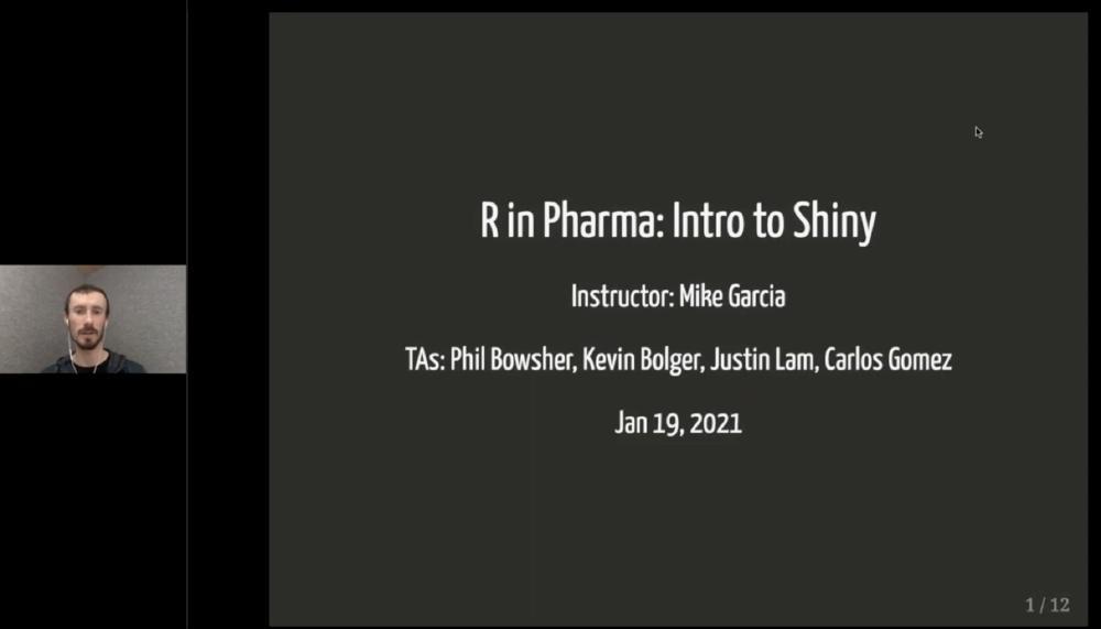 R in Pharma: Intro to Shiny