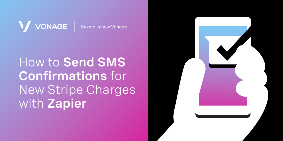 How to Send SMS Confirmations for New Stripe Charges with Zapier