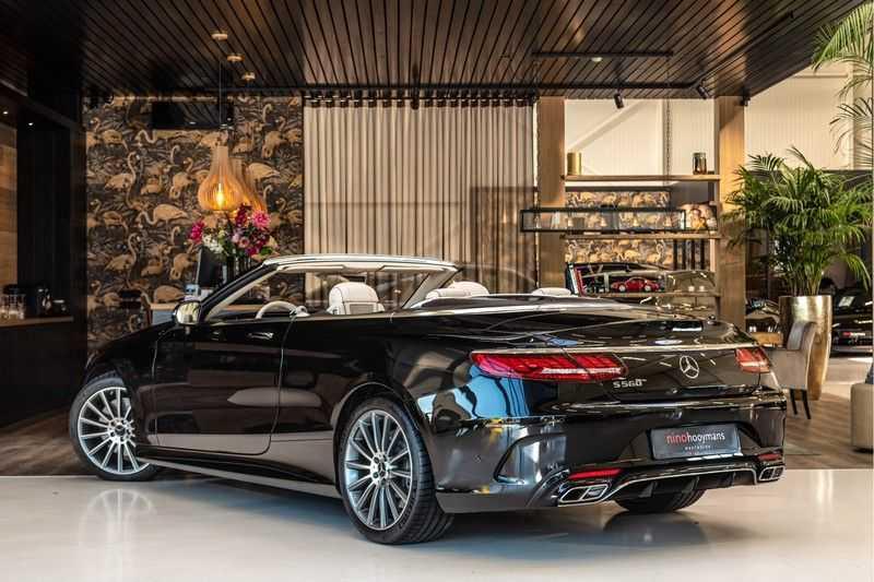 Mercedes-Benz S-Klasse Cabrio 560 | Swarovski | Burmester | 360 graden | Distronic | afbeelding 22