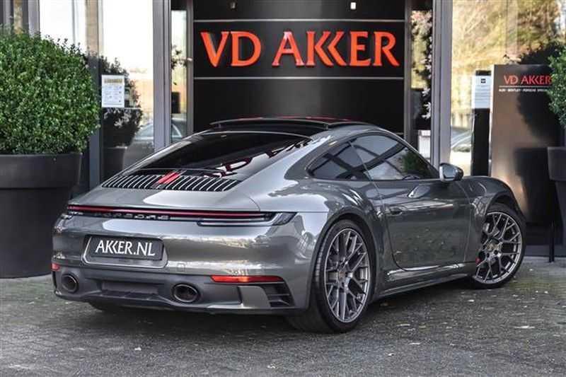 Porsche 911 4S SPORTDESIGN+LIFTSYST.+GLAS DAK+4WSTURING NP.219K afbeelding 11