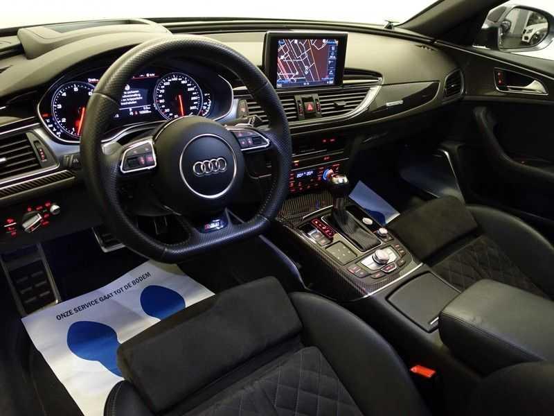 Audi A6 Avant 4.0 TFSI RS6 Quattro Performance 605pk Aut- B&O, Nightvision, Head-up, Orig NL Auto! afbeelding 11