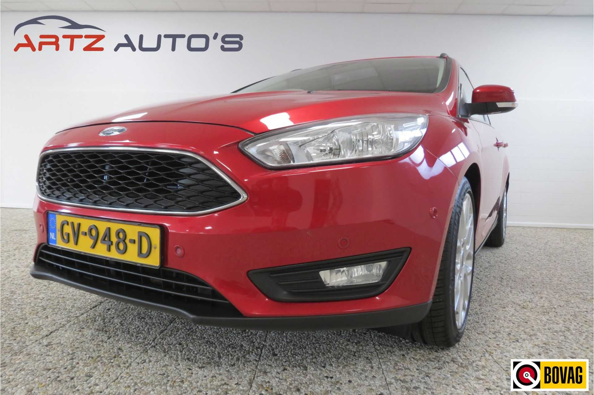 Ford Focus Wagon 1.5 Titanium | 150 PK | SYNC 2 | ADVANCED PACK | WINTER PACK | GETINT GLAS