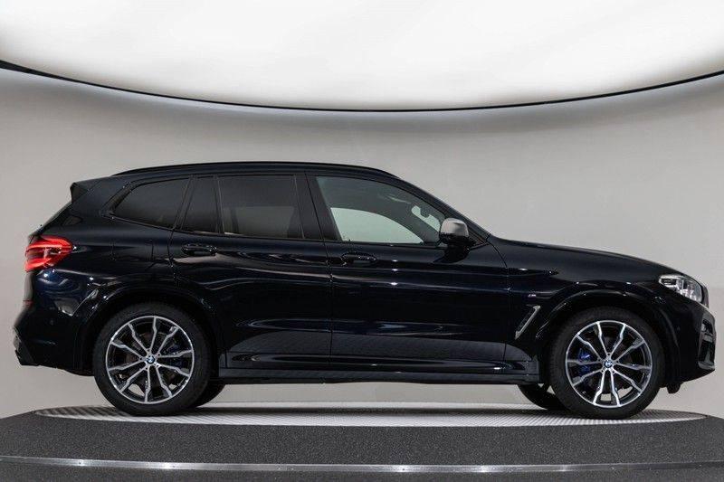 "BMW X3 M40i xDrive 340pk Panoramadak VirtualCockpit ShadowLine Sportleder+Memory Head-Up ACC Harman/Kardon AmbientLight Keyless 20"" 360Camera ParkAssist Pdc afbeelding 12"
