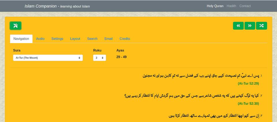 Islam Companion Web API