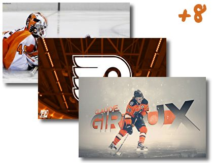 Philadelphia Flyers theme pack