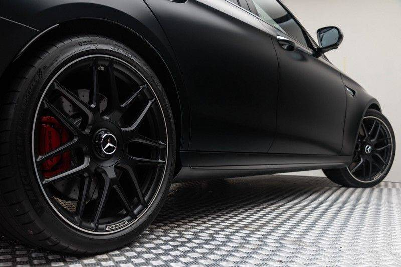 "Mercedes-Benz E-Klasse E63s AMG EDITION 1 4Matic 612pk (MAGNO MAT) Panoramadak Distronic Nightpakket Schaalstoelen Burmester Carbon ComandOnline Keyless 20"" Parktronic Pdc afbeelding 9"