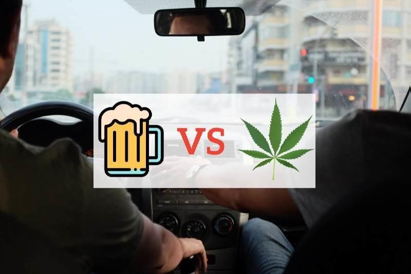The Effects of Cannabis and Alcohol when driving
