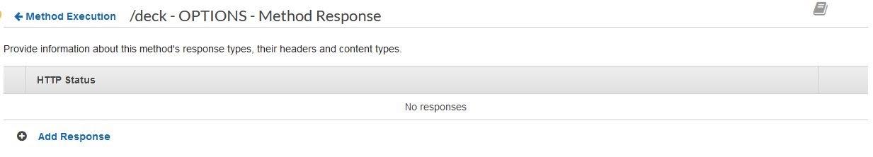 Add Response