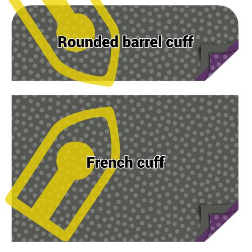 Fuse cuff interfacing