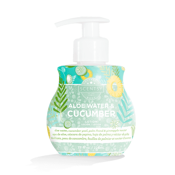 Aloe Water & Cucumber Lotion