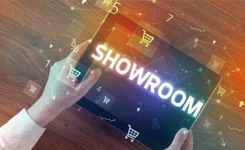 Der Showroom: alles andere als tot!