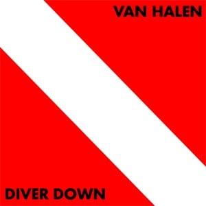 Van Halen Diver Down Album Cover
