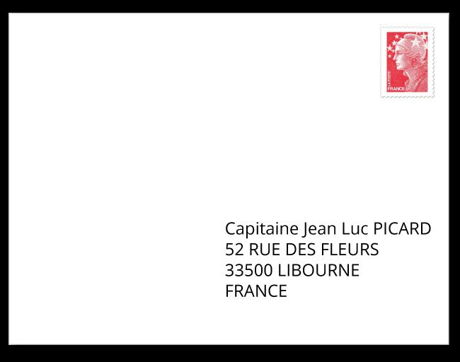 French Address Format