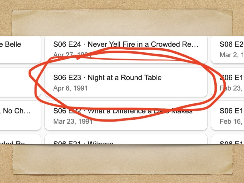 Bea Arthur `vs` Knights of the Round Table   Miriam Suzanne