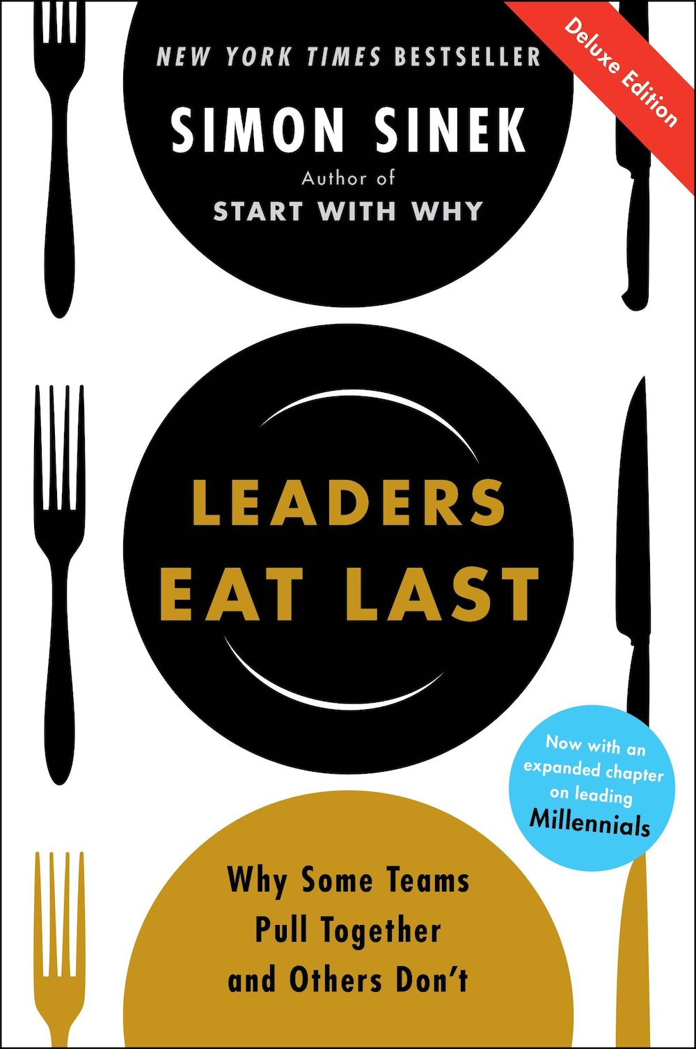 The cover of Leaders Eat Last