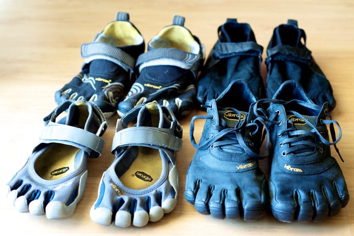 FiveFingers lineup