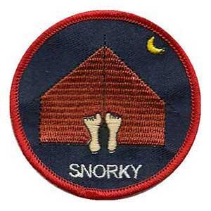 Snorky spejdermærke
